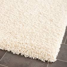 safavieh california shag ivory rectangular indoor machine made area rug common 8 x california shag black 4 ft