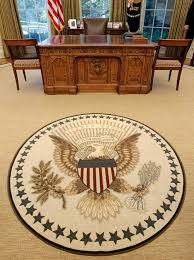 renovations to the oval office including a new carpet drapes wallpaper and furniture bill clinton oval office rug
