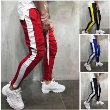 <b>Men gym pants joggers</b> cotton sweatpants men pencil pants casual ...