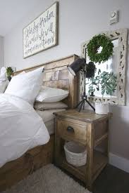 remember the decor on the wall behind the side table for bedroom in cottage painted side tables in rustic bedroom farmhouse bedroom distressed white bedroom ideas furniture