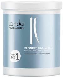 <b>Londa Professional Blondes Unlimited</b> Creative Lightening Powder ...