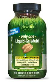 <b>Only One Liquid-Gel Multi</b>® without Iron - Irwin Naturals