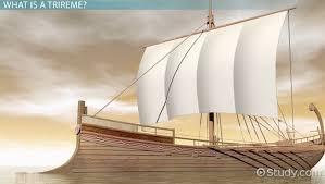 Greek Trireme  Definition  Facts  amp  Diagram   Video  amp  Lesson     Greek Trireme  Definition  Facts  amp  Diagram   Video  amp  Lesson Transcript   Study com