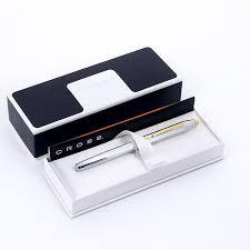 <b>Перьевая ручка</b> Cross <b>Century II</b> Medalist Chrome GT, серебристая
