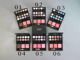 mac make up kit 10 color eye shadow 2 blusher