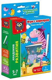 Настольная <b>игра Vladi Toys</b> Пиши и вытирай Зебра... — купить по ...