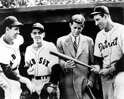 px ted williams eddie pellagrini john f kennedy and hank px 82 12 ted williams eddie pellagrini john f kennedy and hank greenberg