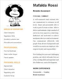 retail resume –   samples   examples   formatcv   retail assistant