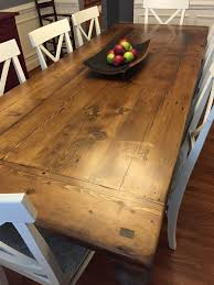 barn wood dining room table quotw