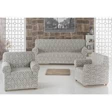<b>Набор чехлов для</b> дивана и кресел Milano, 3-х предметный, цвет ...