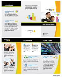 illustrator template info business vector brochure template in illustrator