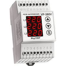 Купить <b>реле напряжения DigiTOP Vp</b>-380V в интернет магазине ...