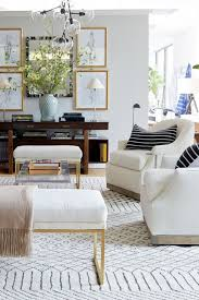 living room furniture spaces inspired: neutral but patterned rug ideas image via one kings lane