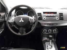 Mitsubishi Lancer 2010 2010 Mitsubishi Lancer Gts Black Dashboard Photo 37918370