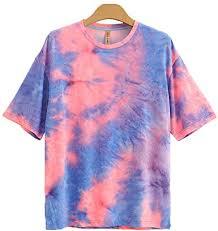 WZ.Tricolore <b>Men's</b> Short Sleeve Tie Dye <b>T</b>-<b>Shirts</b>, <b>Summer Loose</b> ...