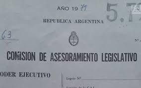 Resultado de imagen para leyes de la dictadura militar argentina