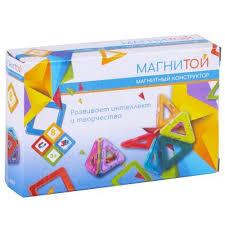 "<b>Магнитой</b> LL-1002 <b>Конструктор магнитный</b> ""<b>8</b> треугольников ..."