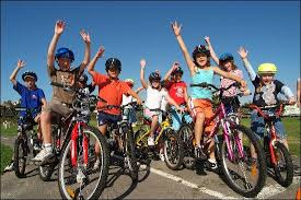 Image result for kids riding bikes