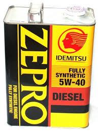 <b>Idemitsu Масло моторное</b> Zepro Diesel F-S 5W-40 CF 4л 2863-004 ...