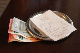 Image result for the bill in restaurant