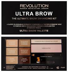 REVOLUTION <b>Палетка теней для бровей</b> Ultra Brow Palette ...
