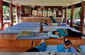Image result for thailand massage  training girl