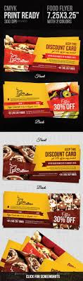 food coupons loyalty loyalty cards and coupon food coupons template design graphicriver net item