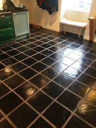 Slate Flooring For Kitchen Slate Kitchen Floor Stripped Cleaned And Sealed Lochwinnoch