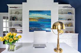view full size white and navy home office blue white home office