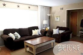attractive living room ideas dark brown sofa minimalist delectable image of decoration using l shape tufted blue couches living rooms minimalist