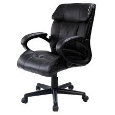giantex pu leather ergonomic high back executive computer desk task office chair black 60 degree swivel wheel and chair can run smoothly on floor amazoncom bestoffice ergonomic pu leather high