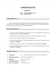 career objectives for resume template career objectives for resume