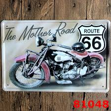 home decor plate x: pcs lot xcm decorative plate home decor vintage metal signs motorcycle china