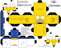 Cubeecraft de los Simpsons.