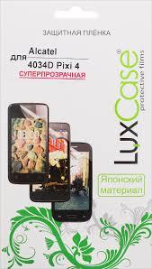 LuxCase <b>защитная пленка для Alcatel</b> OneTouch Pixi 4 (4034D ...