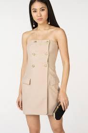 <b>Мини платье без бретелей</b> в стиле милитари T-Skirt - купить в ...
