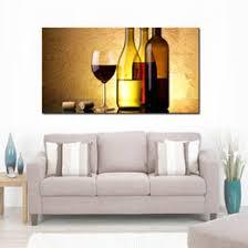Wine Bottle Paintings Canvas Online Shopping | Wine Bottle ...