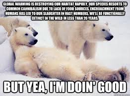 Procrastinating Polar Bear memes | quickmeme via Relatably.com