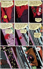 art that cannot move people effectively loses the war the last figure 833 the first page of watchmen written by alan moore art by dave gibbons and john higgins from watchmen 1 1986