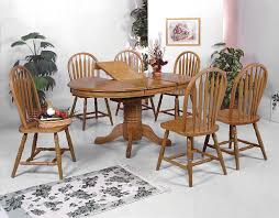 delivery dorset natural real oak dining set: pc ayca bungalow solid oak dining set