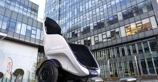 Segway's newest self-balancing vehicle is an <b>egg</b>-<b>shaped</b> wheelchair