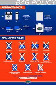 <b>Clear</b> Bag Policy - <b>Florida</b> Gators