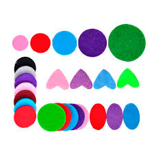 100pcs 25mm 30mm Mixed Colorful Spacers Thick Felt <b>Refill Pads</b> ...
