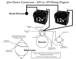 wiring diagram for john deere tractor the wiring diagram john deere 24v to 12v starter conversion kit wiring diagram