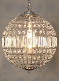 crystal ball crystals and pendants on pinterest ball pendant lighting