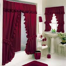 bathroom window curtains target