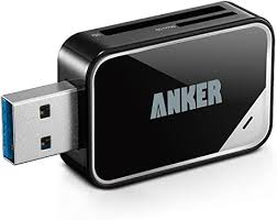 Anker® <b>USB 3.0 Card Reader</b> 8-in-1 for SDXC, SDHC, SD, MMC ...