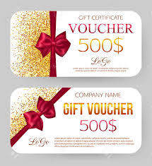 gift voucher template golden design for gift certificate coupon gift voucher template golden design for gift certificate coupon golden dust 500