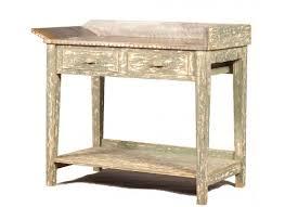 images zinc table top: zinc top table perfect kitchen accent