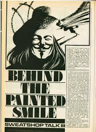a wishful past all jungled over the last war in albion part  figure 616 the first page of moore s essay explaining the development of v for vendetta